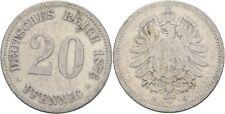 20 Pfennig 1876 D Kaiserreich