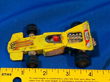 1971 Matchbox Speed Kings Formula 1 Indy Race Car Stp 34 Vtg Toy Driver