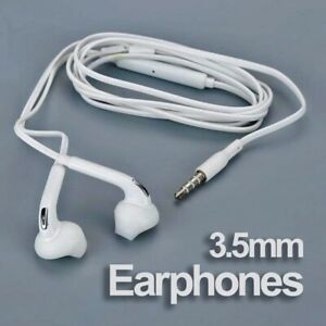 Universal Earphone With Mic Stereo Headset Wired Handfree Samsung Galaxy S4 3