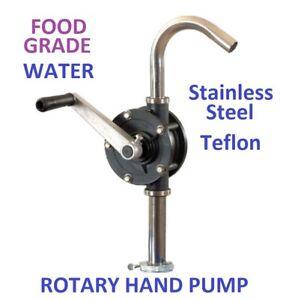 ROTARY HAND PUMP - RYTON - FOOD GRADE, TEFLON, 25L/min
