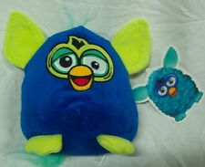 "Furby a Mind of it's Own HAPPY BLUE FURBY 8"" Plush STUFFED ANIMAL Toy NEW"