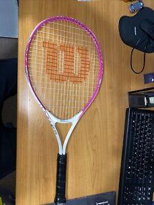 Wilson Kids Girls Tour Junior Tennis Racket Sports Equipment Accessory Brand