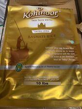 Kohinoor Extra Long Basmati Rice 10 lb Exp: 02/22 New
