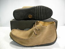 J. SHOES TORIN MID SUEDE MEN SHOES BROWN/OAKWOOD 6591 SIZE 7 NEW