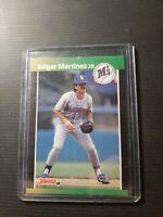 1989 Donruss Edgar Martinez Seattle Mariners #645 Baseball Card