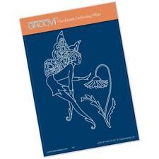 Clarity Stamps Groovi parchemin gaufrage A6 Plaque - Fée 3