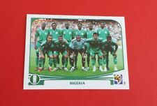 2010 Panini Soccer FIFA World Cup Nigeria Team Sticker #125
