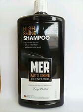 MER High Shine Car Shampoo 500ml Glossy Streak free Finish Water Repellent