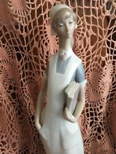 Lladro 4603 Nurse Mint Condition! No Box! Retired! Glossy! Great Gift! L@@K!