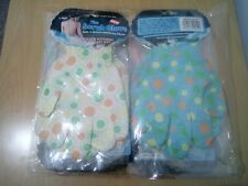 12 PAIRS OF THE SCRUB GLOVES, BATH & SHOWER EXFOLIATING GLOVES