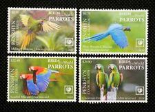 More details for penrhyn cook islands - 2019 - parrots - 4v set - mnh