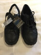 Next Boys Black School Shoes Size 10