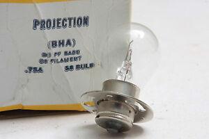 BHA 4 Volt 0.75 AMP Exciter Lamp - 4V 0.75A Sound Bulb - GE USA Bulk - NEW L19
