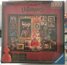 Ravensburger Disney Villianous Queen of Heart 1000 piece adult puzzle New Sealed