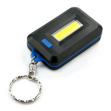 Mini Portable 3Mode Pocket COB Worklight Light LED Flashlight Torch Keychain New