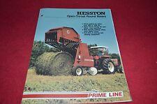 Hesston 5510 5540 5580 Round Baler Dealer's Brochure DCPA2