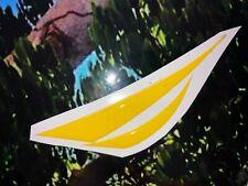 Náutica logo Gel Relieve, sticker Gel, Relieve decals,  yelow 3D