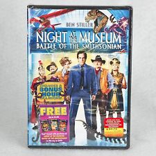 Night at the Museum: Battle of the Smithsonian - NEW DVD Free Shipping Stiller