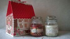Apple Cinnamon/Vanilla Frosting mini Jar Candles with treat box teachers gift