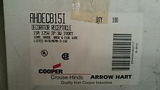 Arrow Hart AHDECB15I DECORATOR RECPT 15AMP IVORY    BOX OF 100