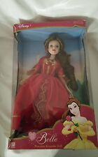 Disney (Princess Belle) Porcelain Keepsake Doll From Beauty and the Beast 2003.