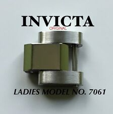 LADIES INVICTA WATCH LINK MODEL  7061 STAINLESS STEEL