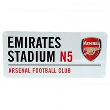 Arsenal FC Official Crested Street Road Sign Emirates Stadium N5 The Gunners