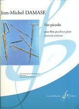 """JEAN-MICHEL DAMASE"" FOR FLUTE/PICCOLO AND PIANO MUSIC BOOK BRAND NEW ON SALE!!"