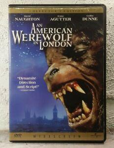 An American Werewolf in London DVD (1981) John Landis HORROR COMEDY MOVIE - RARE