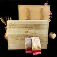Top Grade Flower Fragrance Dahongpao Tea Wood Box Pack Oolong Big Red Robe 256g