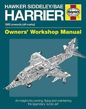 Hawker Siddeley/BAe Harrier Manual: 1960 Onwards (All Marks) (Owners' Workshop M