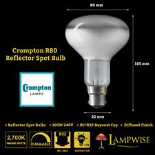 Crompton 240V 100W Light Bulbs