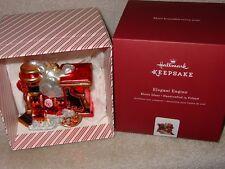 Hallmark Keepsake 2017 Train Elegant Engine Premium Blown Glass Christmas