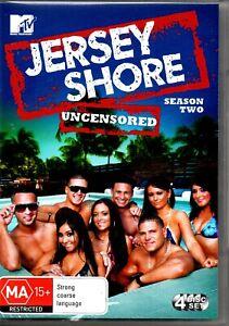Jersey Shore Uncensored Season 2 (DVD, 2011, 4-Disc Set)