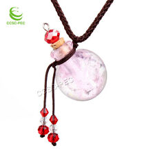 Millefiori Oil Perfume Bottle Vial Necklace Fragrance Aromatherapy Diffuser New