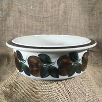 "Arabia Finland Ruija Troubadour 7.25"" Serving Vegetable Bowl Vintage Mid Century"