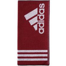 Articles et textiles rouges coton pour la salle de bain 50x100 cm