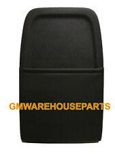 2007-2013 SILVERADO SIERRA BLACK FRONT SEAT BACK PANEL W/LEATHER NEW GM 20926207