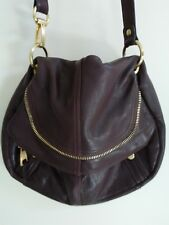 B. MAKOWSKY Leather Crossbody Bag Brown