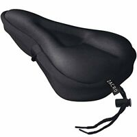 Zacro ZBS2 Gel Bike Seat Cover,Bike Saddle Cover With Black Waterproof Saddle