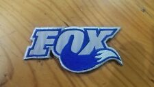 FOX EMBROIDERED  DEACL 9CM4CM TO BE IRONED OR SEWED ON TO YOUR SHIRT OR PANTS