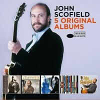 JOHN SCOFIELD 5CD NEW Time On My Hands/Meant To Be/Grace Under/Hand Jive/Groove