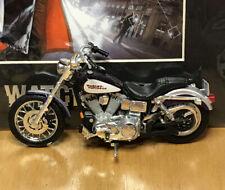 MAISTO HARLEY-DAVIDSON 2001 DYNA LOW RIDER MOTORCYCLE DIECAST Purple Tank