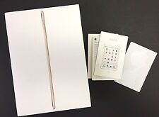 iPad Air Wi-Fi 64GB Gold BOX ONLY Stickers Instruction