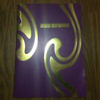 Pop trash tour book VERY RARE purple edition DURAN DURAN 2000