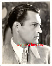 Vintage Charles Starrett SEXY HANDSOME PROFILE '38 Publicity Portrait LONGWORTH
