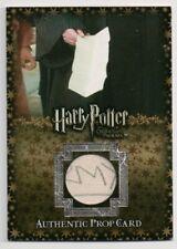 Harry Potter Prop Card D.A. Parchment Dumbledore's Army P1 024/185 RARE VARIANT!