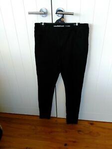 The 1964 Denim Company black denim ladies shaping jeans  Size 16