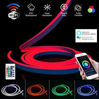 RGB Neon Flex Light IP67 Waterproof 10x20 DC12V Indoor Outdoor RGB Neon Flex LED