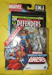 Marvel Universe 3.75 figure Comic Packs Silver Surfer & DR Strange new